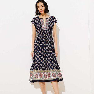 BNWT Loft Petite Midi Dress